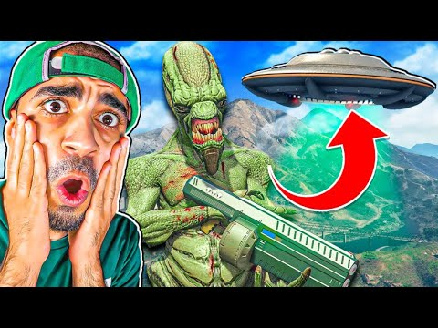 قراند 5 : مود الفضائيين - GTA V Alien Invasion Mod !!