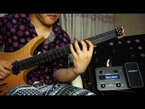 Allan Holdsworth-Tokyo Dream- Cover By Niko烨 Strandberg OS6 Hotone Ravo MP-10