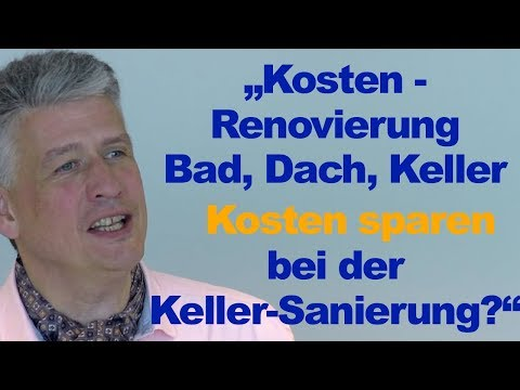 """Kosten beim Hauskauf - Renovierung Bad, Dach, Keller """"Baufinanzierung Ahrensburg"""""""