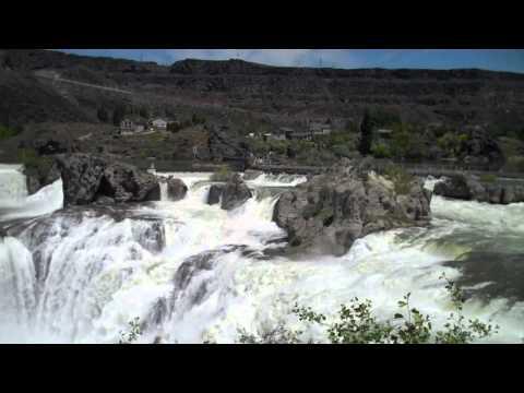 Best Amazing of Shoshone Falls Video, Idaho, US |  Travel to Shoshone Falls Park Holidays 2015