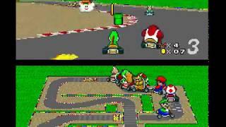 Super Mario Kart - Mushroom Cup (100 CC) - Part 2