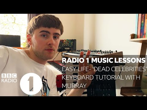 Easy Life -  Dead Celebrities (Piano Tutorial With Murray, Easy Life)