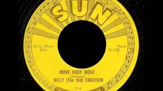 Billy (The Kid) Emerson - Move Baby Move