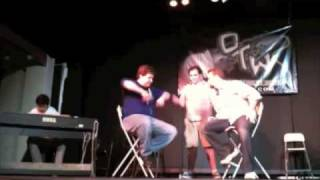 "Off The Wall Comedy Improv Song: ""poker face"""