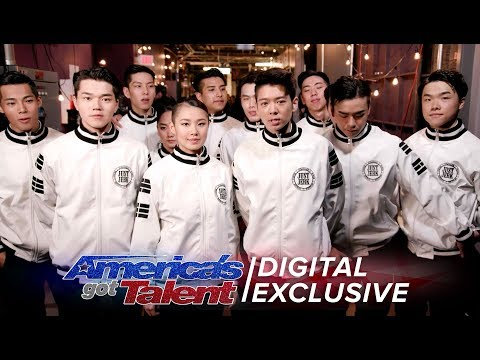 Elimination Interview: Just Jerk Thanks Their Supporters - America's Got Talent 2017
