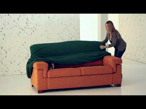 Как надеть чехол на диван: видео-инструкция от Софатэкс