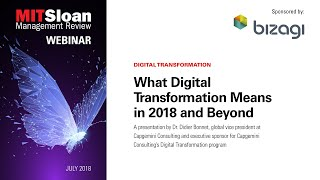 What Digital Transformation Means in 2018 and Beyond - Dr. Didier Bonnet.