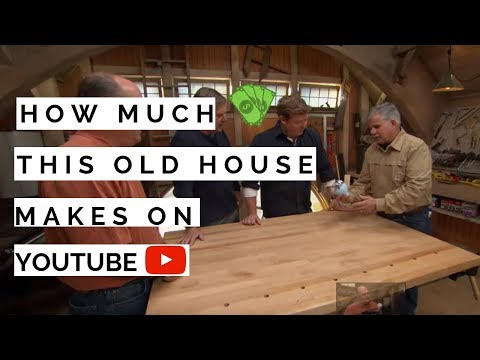 How much This Old House makes on Youtube