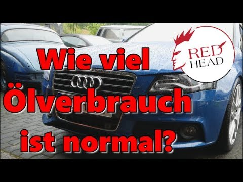 Wie viel Ölverbrauch ist normal? Audi A4 2.0 TFSI  0588 AGP Motor CDNC  | Redhead