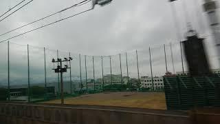 《車窓》東海道新幹線 700系のぞみ155号 名古屋~京都