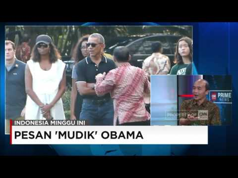 Pesan 'Mudik' Obama - Indonesia Minggu Ini Mp3