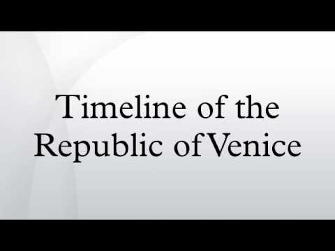 Timeline of the Republic of Venice