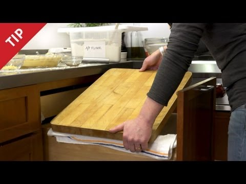 Make Create More Counter Space Instantly - CHOW Tip Snapshots