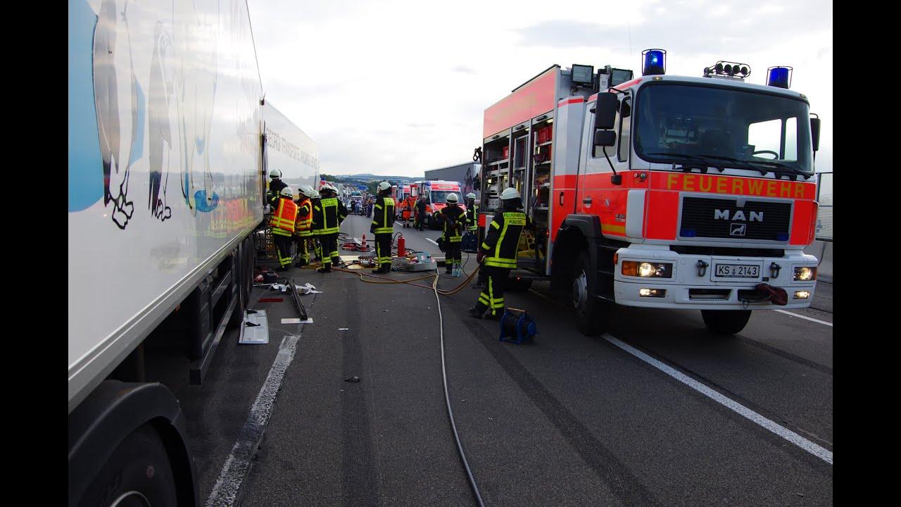 Unfall A7 Kassel Heute