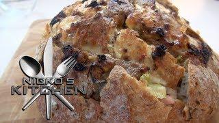 Cheesy Bacon Pull Apart Bread - Nicko's Kitchen