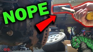 How to Remove a Stuck Rotor WITHOUT a Hammer!