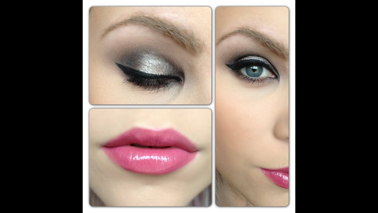 girly rock chick makeup youtube