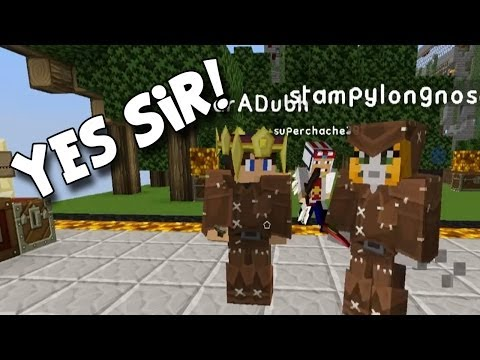Minecraft PC - Race For The Wool - Sir Squid SIR!