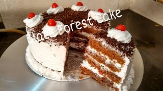 Perfect Homemade Eggless Black forest Cake RecipeCake For Beginners Tutorial by Somyaskitchen #234