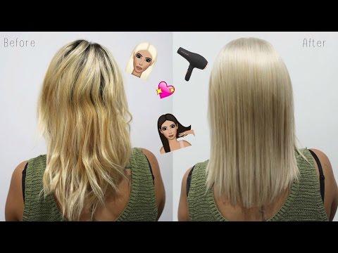 Hair Transformation   Clean blonde