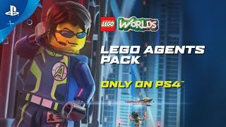LEGO CITY Undercover  - Disguises & Co-Op Trailer | PS4