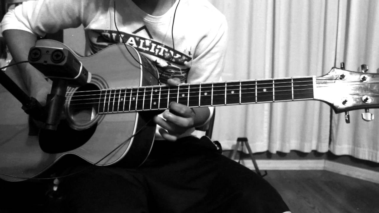 sidewinder avenged sevenfold acoustic guitar solo cover by rokyt youtube. Black Bedroom Furniture Sets. Home Design Ideas