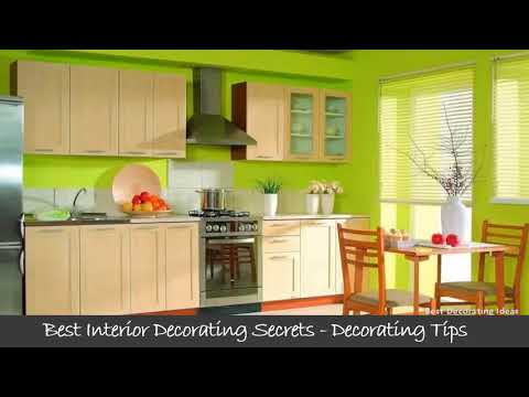 Green kitchen design | Tips of Interior design picture ideas for modern house stylish