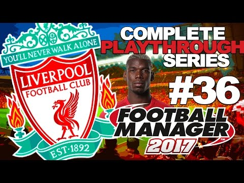 FOOTBALL MANAGER 2017 | LIVERPOOL | #36 | NW DERBY