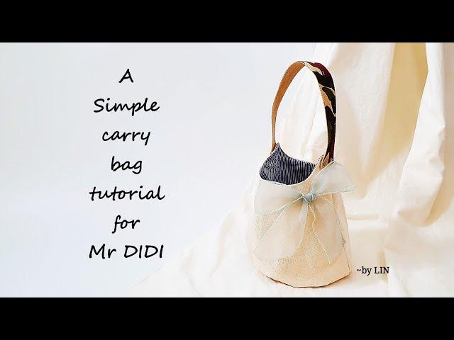 Bag tutorial for beginner ‖ Mr DIDI is coming HandyMum Hedgehog