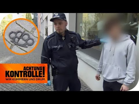 16-Jähriger mit Drogen & Schlagring in der Schule! Warum nur? | Achtung Kontrolle | kabel eins