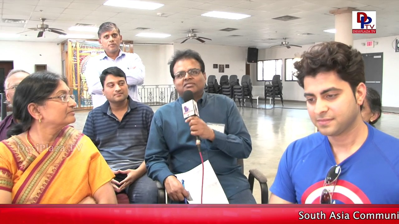 One of the Organizers speaks to DesiplazaTV at DFW Temple 3rd Carrom Tournament || DesiplazaTV
