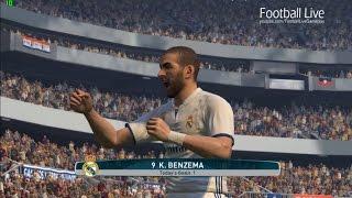 PES 2017 | Eibar vs Real Madrid | Full Match | Gameplay PC