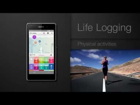 Lifelog app from Sony Xperia