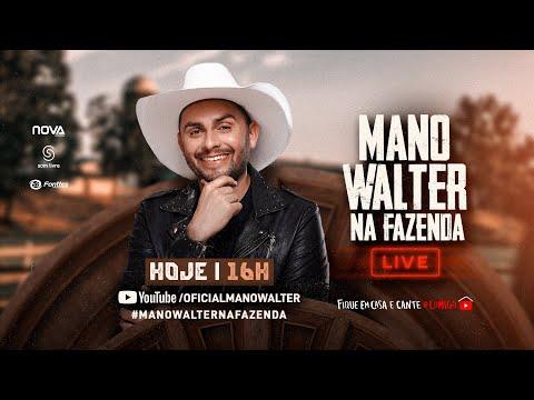 Mano Walter na Fazenda - Live | Fique em Casa e Cante #Comigo