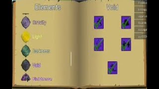 What ya look at dat elements I have   ROBLOX Elemental Battlegrounds
