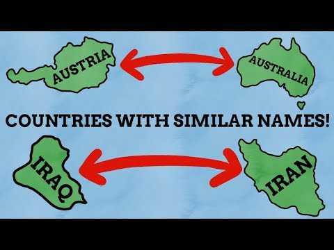 Countries With Similar Names! | Video Compilation