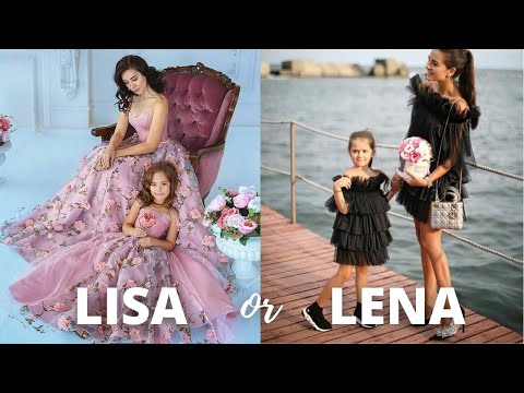 LISA OR LENA ? MOTHER-DAUGHTER Matching Dresses - Which one is your fav? ? You Dress