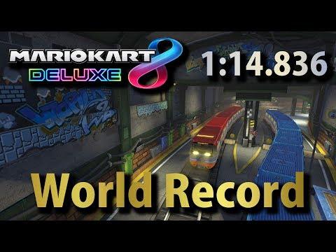 【MK8DX】 Super Bell Subway [200cc]: 1:14.836: World Record