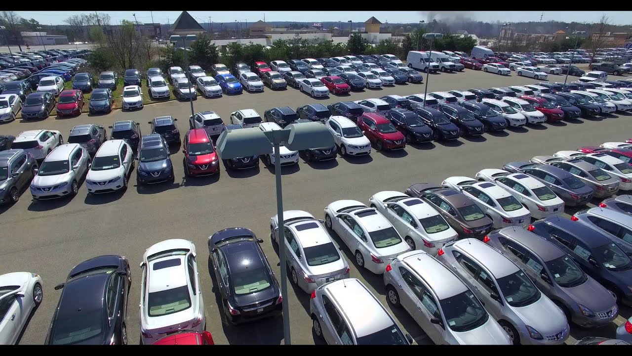 Sutherlin Nissan Mall Of GA Drone Footage 2