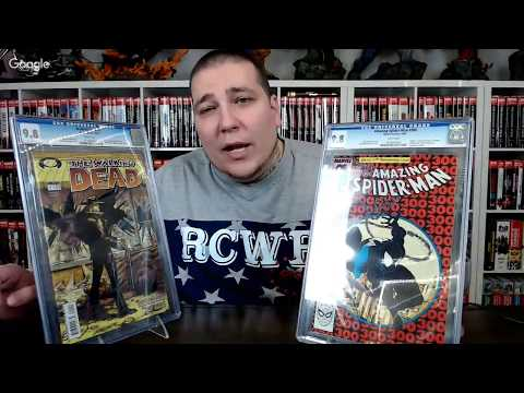 CGC Spotlight: Amazing Spider-Man 300 and Walking Dead CGC 9.8