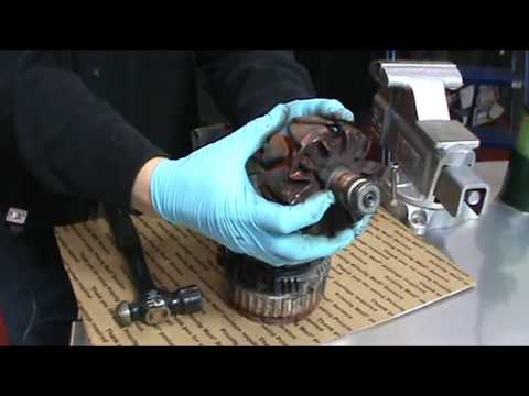 How to make a Ford 3G alternator into high amp.