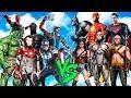 JUSTICE LEAQUE 2017 vs AVENGERS (FLASH,SUPERMAN,CYBORG vs IRON MAN,HULK,THOR,VISION) - EPIC BATTLE)