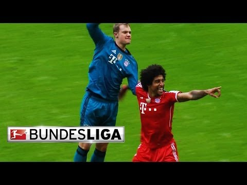 Bayern's Dante has a Heart for Goalkeepers
