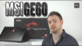 MSI GE60 2PE Apache Pro Review HD