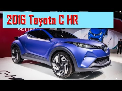 2016 Toyota C HR Compact Crossover