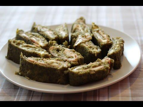 Rolada od brokule sa šunkom i sirom - Broccoli Roll with Ham and Cheese