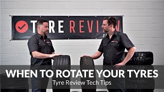 Tyre Rotation - what is it, and when to do it