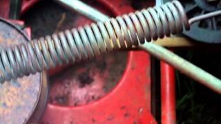 MTD Pulley Belt Problem