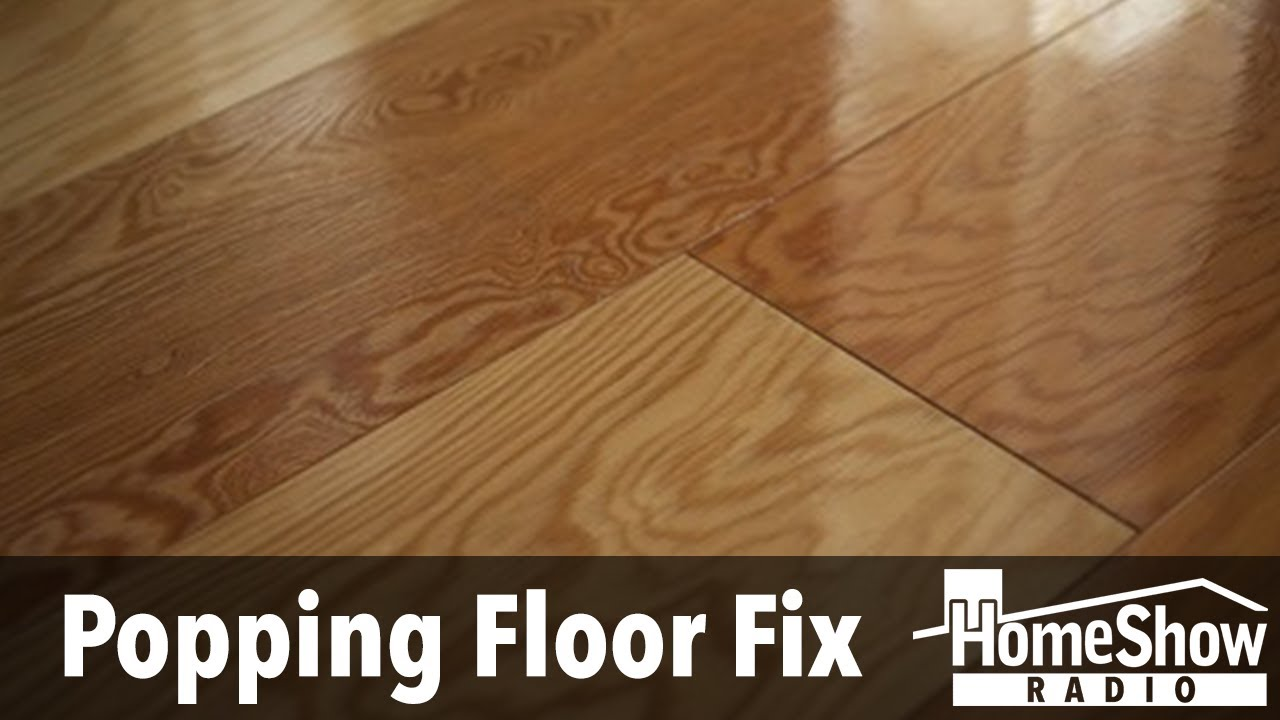 What Would Cause Laminate Flooring To, Noisy Laminate Flooring