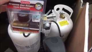 Propane Tank Gauge - Living in a Travel Trailer - L2Survive with Thatnub
